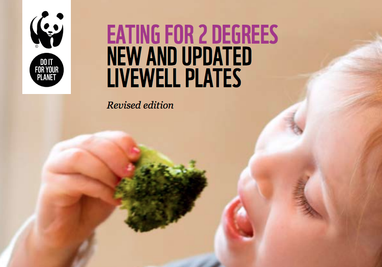 WWF Livewell report aims for 'diets that are good for both people and the planet'