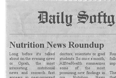 Top Nutrition Headlines 11 December – A Nutrilicious Digest