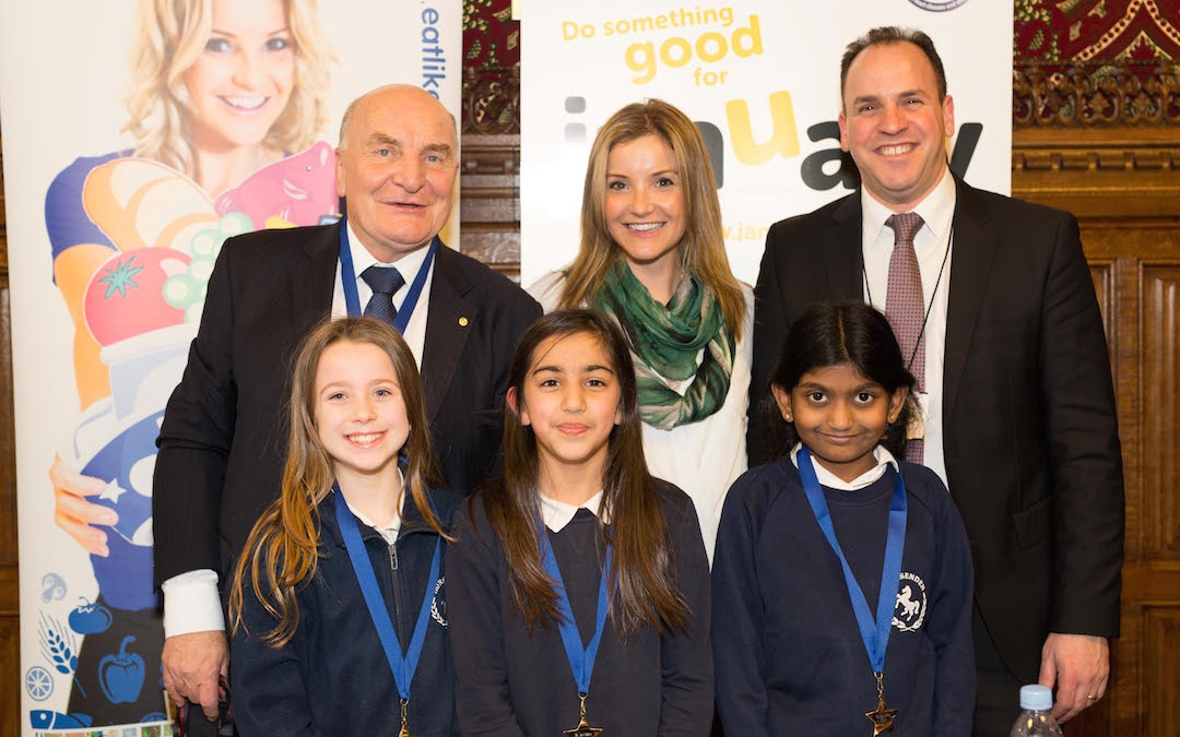 Pupils take MPs to school in parliamentary healthy living quiz