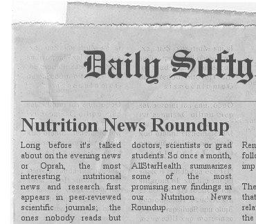 Top Nutrition News Headlines 4 Dec – A Nutrilicious digest